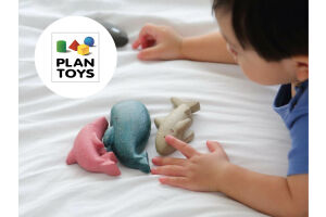 Plan Toys tovert afval om in duurzaam speelgoed!