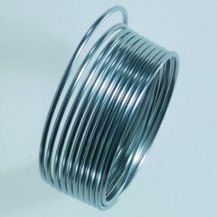 Aluminiumdraad soepel 1 mm 5 m