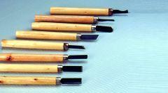 Snijset voor gips en hout 8 stuks