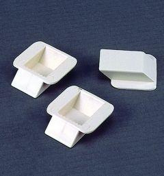 Ingiethaakje plastic 25/13 mm 6 stuks