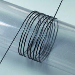 Nylondraad elastisch 0,5 mm 10 m zwart