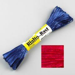 Raffia 23 m glans rood