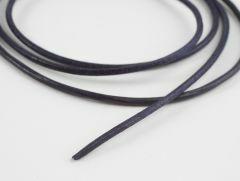 Lederveter rond 80 cm violet