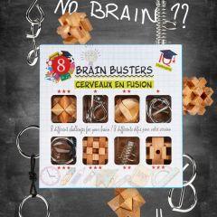 Brain Busters geschenkdoos met 8 verschillende uitdagingen
