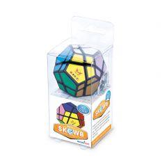 Mini Meffert puzzel Skewb met sleutelhanger