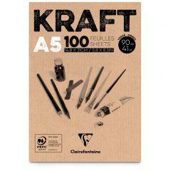 Kraftpapier 90 g 100 vellen A5