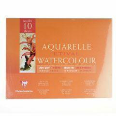 Etival aquarelblok 300g 4-zijdig gelijmd 18x24 cm 10 vellen