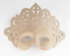 Papier-maché Venetiaans masker prinses