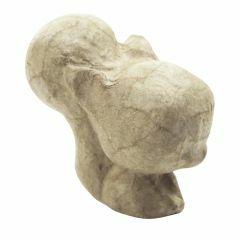 Papier-maché figuurtje 7 cm eekhoorn