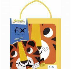 Avenue Mandarine borduurset 6-10 jaar tijger