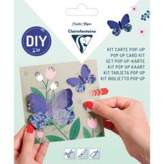 Kit pop-up kaart Vlinder