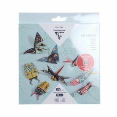 Origami set insecten