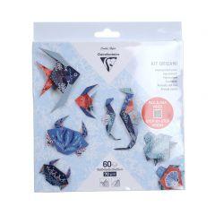 Origami set zeewereld