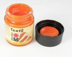 Marabu textielverf 50 ml oranje