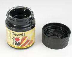 Marabu textielverf 50 ml zwart
