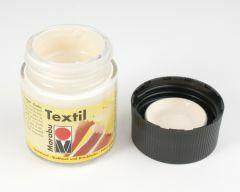 Marabu textielverf 50 ml huidskleur blank