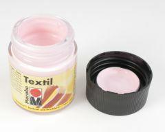 Marabu textielverf 50 ml lichtroze