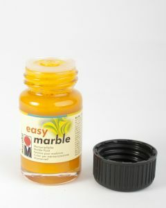 Marabu Easy Marble 15 ml middengeel