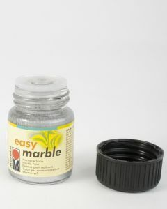Marabu Easy Marble 15 ml zilver