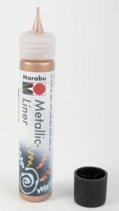 Marabu Metallic Liner koper