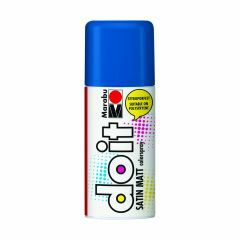Marabu Do It verfkleurspray mat 150 ml middenblauw