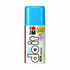 Marabu Do It verfkleurspray mat 150 ml neon-blauw