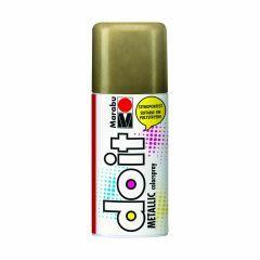 Marabu Do It verfkleurspray metallic 150 ml goud