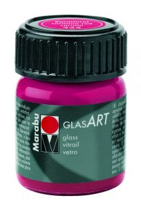 Marabu Glas Art 15 ml karmijnrood