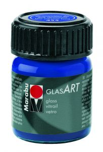 Marabu Glas Art 15 ml ultramarijnblauw