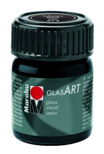 Marabu Glas Art 15 ml zwart