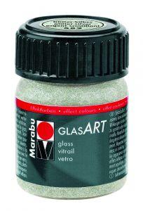 Marabu Glas Art 15 ml glitter zilver