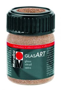 Marabu Glas Art 15 ml glitter roodgoud