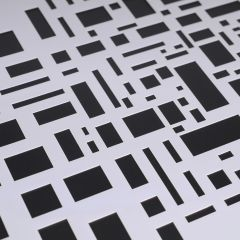 Marabu Art Stencil A4 Graphic Pattern