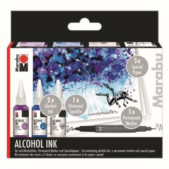 Marabu Alcohol inkt set Underwater
