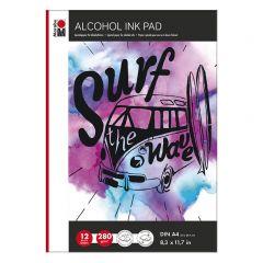 Marabu Alcohol Ink Pad A4, 12 bladen