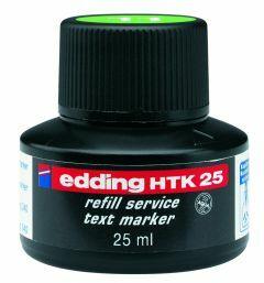 Edding highlighter navulinkt 25 ml fluogroen