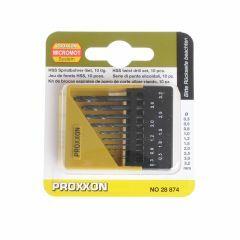 Boortjes voor handboor 0,5 mm - 3 mm 10 stuks