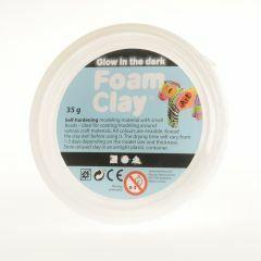 Foam Clay 35 g Glow in the Dark