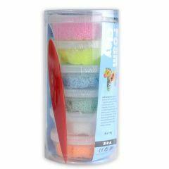 Foam Clay 6 x 14 g assortiment glitter