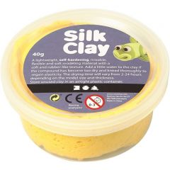 Silk Clay 40 g geel