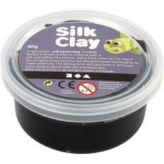 Silk Clay 40 g zwart