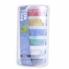 Silk Clay set 6 x 14 g standaard