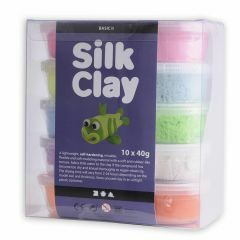 Silk Clay set 10 x 40 g basic 2