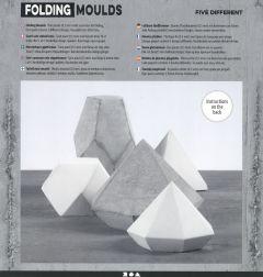 Gietvorm 5 stuks geometrische vormen