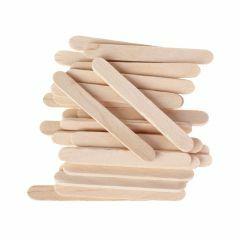 Houten spatels 5,5 cm x 6 mm 50 stuks