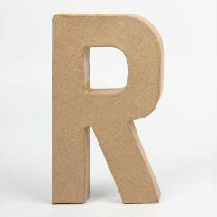 Letter karton, hoogte 20,5 cm, dikte 2,5 cm R