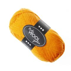 Baby wol 50 g oranje
