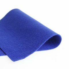 Vilt 100% wol 1,2 mm 20 x 30 cm blauw