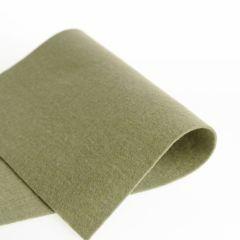 Vilt 100% wol 1,2 mm 20 x 30 cm grijsgroen