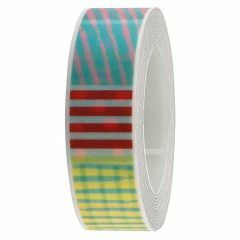 Washi tape 1,5 cm x 10 m patchwork